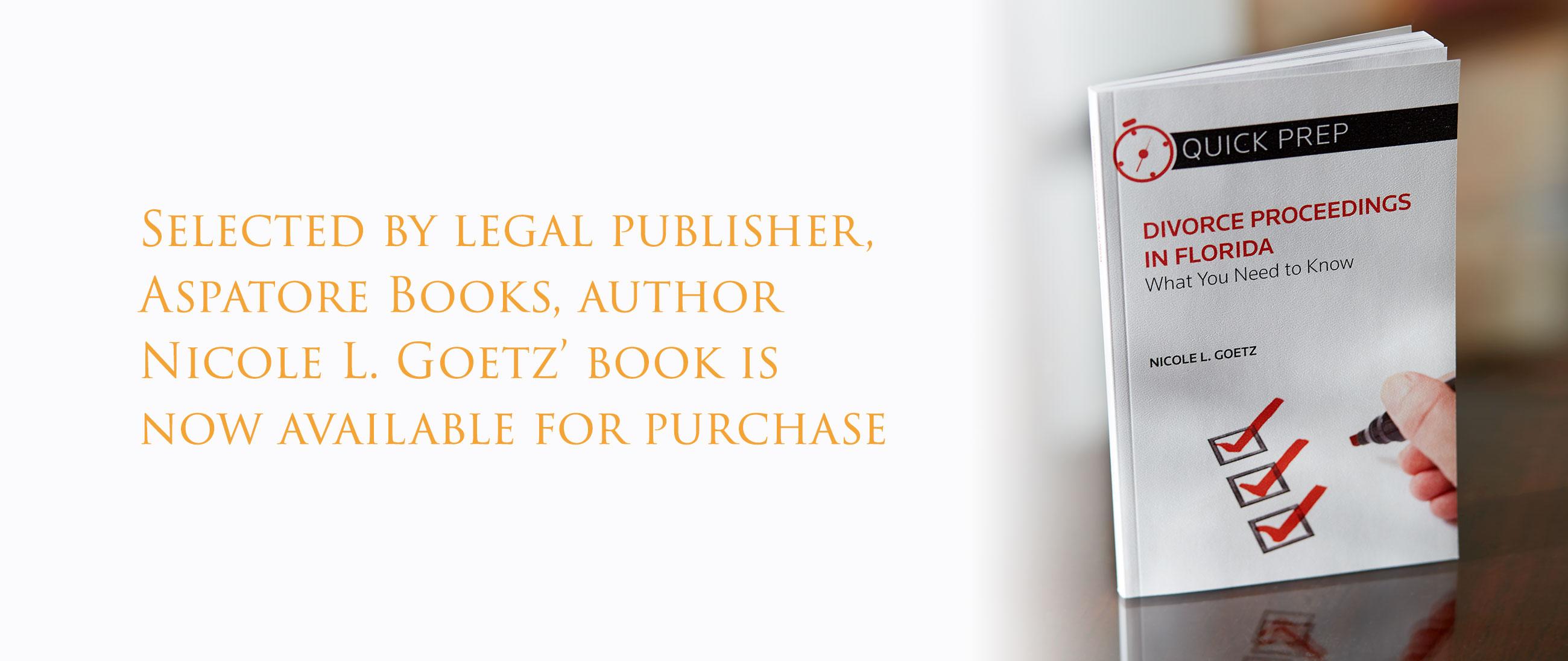 Divorce Proceedings in Florida Book