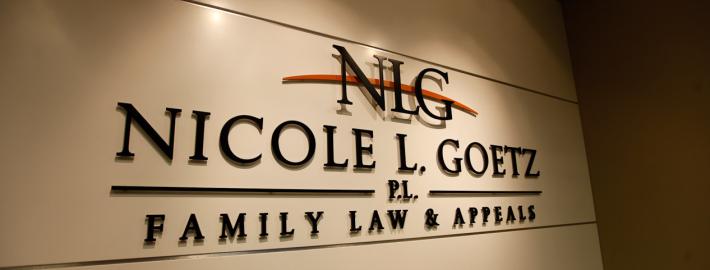 Nicole L. Goetz, P.L. - Office Signage