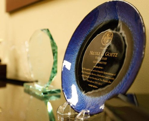 Nicole L. Goetz, P.L. - Family Law Section of the Florida Bar Award